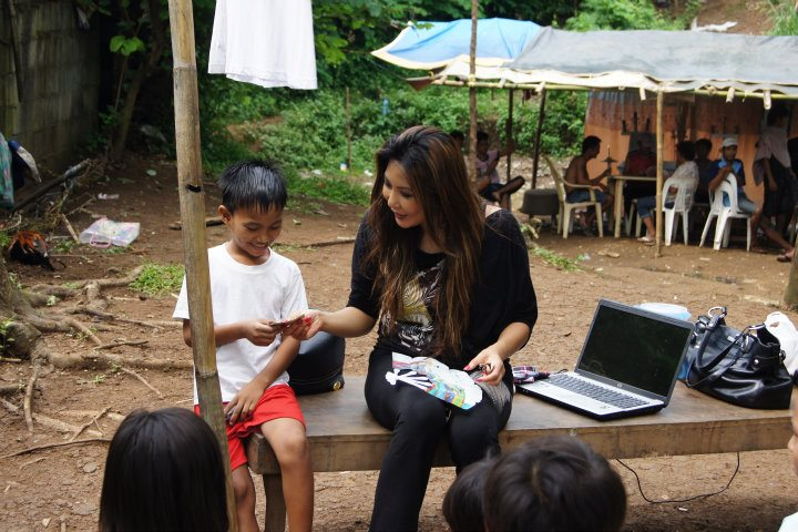 """-Maria Amor, CEO and Founder of Exotifit for Humanity–Presently in the Philippines, Soon Showcasing Her Humanitarian Project """"Show Love to Abatex"""" on knbstv"""