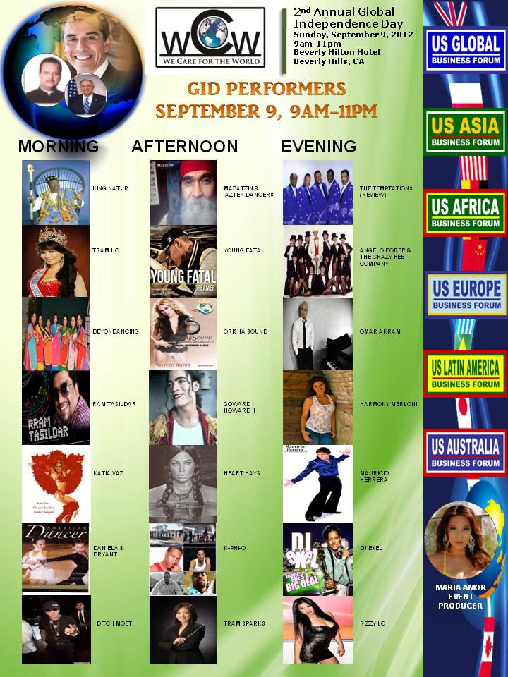 MARIA AMOR IS THE THRILLA FROM MANILA!!; INTRODUCING  INTERNATIONALLY ACCLAIMED AND AWARD WINNING MUSIC MIXING GLOBAL PHENOM , DJ Exel AND MUSICAL BEAUTY HEART HAYS VIA THE 2ND ANNUAL GLOBAL INDEPENDANCE DAY CELEBRATION EXPLODING WORLDWIDE- HURRICANE ISAAC HAS NUTHIN ON HER—!!!