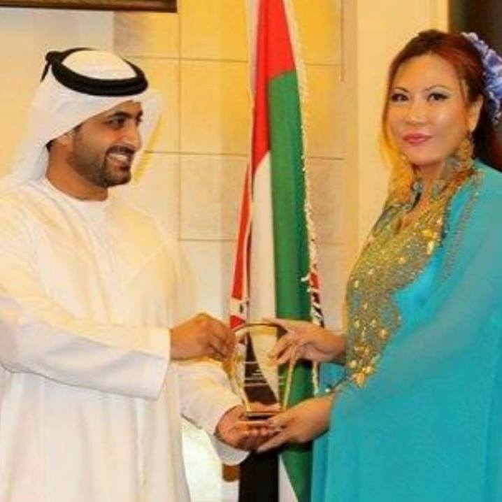 The Traveling Princess Maria Amor adds other notches to her humanitarian portfolio—Global Champion for Peace & Security Award and Inducted in Women Hall of Fame in Dubai last Dec. 13, 2015