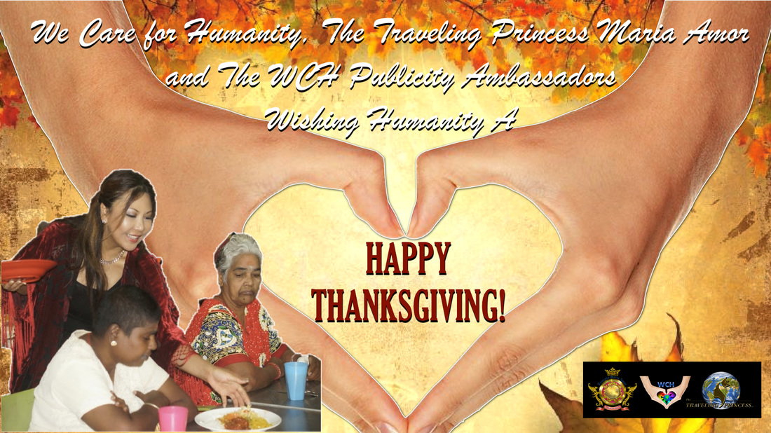 Happy Thanksgiving World Princess Maria Amor Style!