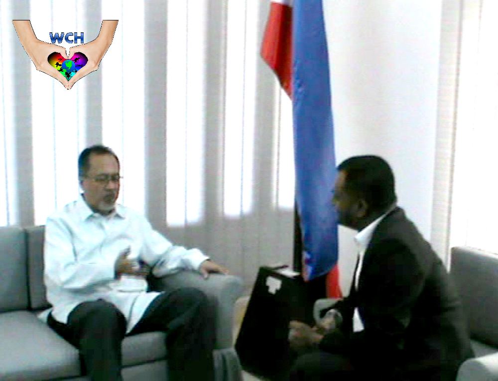 We Care for Humanity's Publicity Ambassador Shariar Nafees Made an Official Visit to the Philippine Ambassy in Bangladesh.