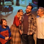 """Jake O""""Flaherty and Bryan Rasmussan's   band of comedic """"anamaniacs"""", makes the old vintage Saturday night Live Jealous as they shine in """"Whitfire Theatre's, """"Winter Shorts""""!!"""