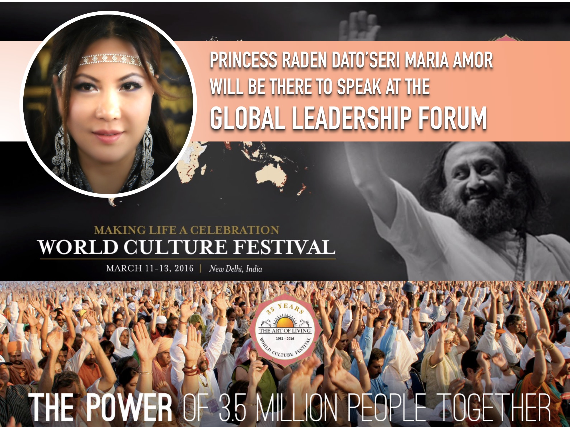 Maria Amor to Speak Among World Leaders at the Grandest Event in Delhi
